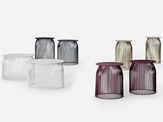 Mesita redonda en acero para hostelería TURI TURI by La Cividina   diseño Antonino Sciortino