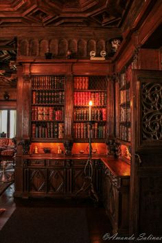 love the lighting in this photograph- the books are beckoning