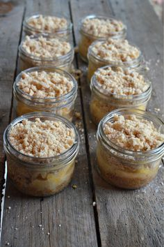 These would make perfect individual desserts for a wedding shower, or delicious DIY wedding favors. Just add a lid and tie a ribbon around the jar and you're good to go. This recipe fills eight Wide Mouth Mason Jars – 250 mL