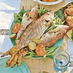 Recipe Marinated Fish/Pescado en Escabeche Puerto Rico