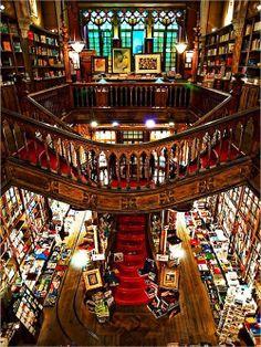 Bibliotheca-Sanctus(Lello Bookshop)Oporto, Portugal: