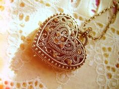 I've always wanted a vintage type locket, my whole life!