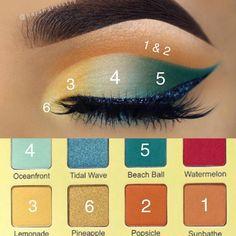Eyeliner Shapes - how to do eyeliner Elf Eyeshadow Palette, Pigment Eyeshadow, Cream Eyeshadow, How To Do Eyeshadow, How To Do Eyeliner, Eyeshadow Steps, Eyeliner Brands, Makeup News, Makeup Eyes