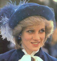 Princess Diana, December 1983