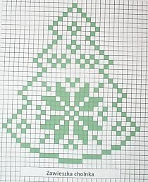 Christmas tree with reindeer Christmas Tree Pattern, Crochet Christmas Ornaments, Christmas Crochet Patterns, Holiday Crochet, Crochet Flower Patterns, Crochet Home, Crochet Designs, Xmas Cross Stitch, Cross Stitching