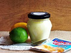 Telita na Cozinha: iogurtes de lima-limão com aroma de baunilha