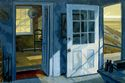 During his residencies in Edward Hopper's former studio in S.Truro, MA on Cape Cod Koch has made a series of painting