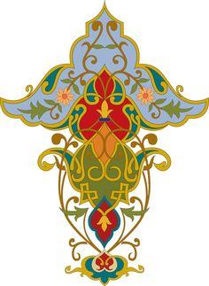 Motifs Islamiques, Islamic Motifs, Islamic Patterns, Islamic Art, Hamsa Design, Textile Pattern Design, Wall Painting Decor, Persian Pattern, Turkish Art