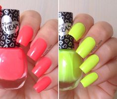 "Smalti neon di ""I love Hean"" – Recensione e swatch"