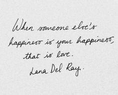 Happiness & love