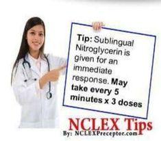 NCLEX study questions & tips Nursing Board Exam, Nursing Pneumonics, Nursing School Notes, Nursing Tips, Nursing Schools, Study Nursing, Medical School, Medical Mnemonics, Pharmacology Nursing
