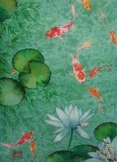 Pez Koi- Representa la abundancia, colocar una representación de ellos en el Sureste atraerá la riqueza al hogar y a los negocios. Feng Shui