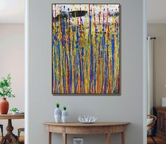 Daydream panorama (Natures Imagery) 40 (2021) - ABSTRACT ART - NESTOR TORO - LOS ANGELES Large Painting, Acrylic Painting Canvas, Abstract Painters, Abstract Art, Art Corner, Painting Edges, Abstract Styles, Abstract Expressionism, Daydream