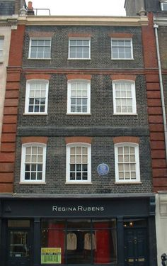 The London house that Handel lived in until his death. for adults but concession for NT members. British Architecture, Georgian Architecture, London Architecture, Georgian House, Georgian Era, London House, London Street, Street House, Interesting Buildings