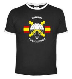 Camiseta BRIPAC. Brigada Paracaidista. www.paracamisetas.com