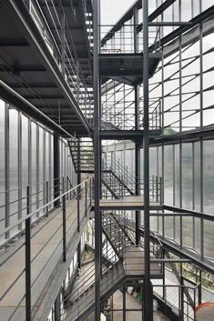 Steel-stairs-by-photographer-Sun-Namgoong -  Jeonghoon LEE  Architecture
