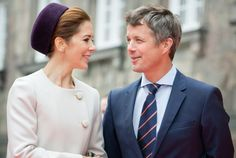 Members of the Danish Royal Family attend the opening of the Danish Parliament at Christiansborg Palace.2014.10.07