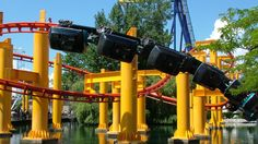 Cedar Point-The Iron Dragon...technically not in Michigan but every Michigander goes there at least once. Yep and I've ridden this one. its little and boring
