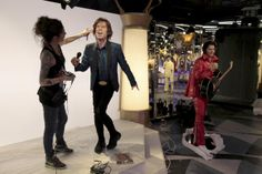 The Grevin Museum - Making Mick Jagger - Pictures - CBS News