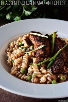 Chicken Recipe: Blackened Chicken Mac and Cheese Recipe