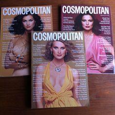 Vintage Cosmopolitan Magazines Lot of 3 November 1976 February April 1977 Fashion Glamour Style by vintagebaron on Etsy