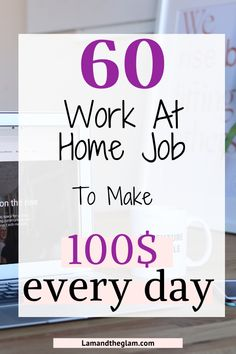Earn Money From Home, Make Money Blogging, Make Money Online, Busy At Work, Work From Home Jobs, Ways To Save Money, How To Make Money, Money Tips, Make 100 A Day