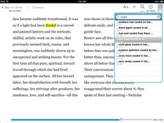 """Nook version of War and Peace turns the word """"kindled"""" into """"Nookd"""" 