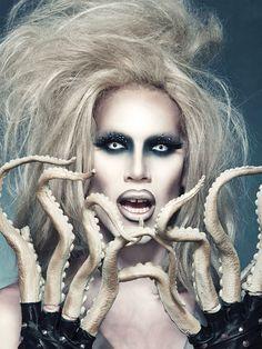 sharon needles octopus fingers