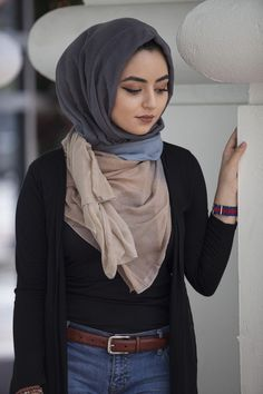 A hijab is a type of head covering worn by women. Women still wear these in Afghanistan and in the rest of the world. Muslim Women Fashion, Islamic Fashion, Hijab Dress, Hijab Outfit, Abaya Fashion, Modest Fashion, Hijab Style Tutorial, Simple Hijab, Hijab Fashion Inspiration