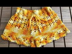 Captivating All About Crochet Ideas. Awe Inspiring All About Crochet Ideas. Bikinis Crochet, Crochet Bikini Pattern, Swimsuit Pattern, Crochet Diagram, Crochet Pants, Crochet Skirts, Crochet Clothes, Cute Crochet, Vintage Crochet
