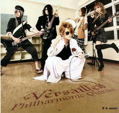 Versailles (Versailles calendar 2012) Versailles Philharmonic Quintet, Power Metal, I Give Up, Visual Kei, Blog, Photos, Japanese, Rock, Knights
