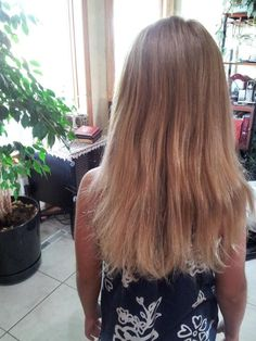 Melissa Poepping Deep Hair Conditioner Recipe ~ BEFORE PICTURE ~ 1st step: Apply 5 drops each: Young Living Rosemary, Geranium Lavender Essential Oil to dry hair. Then apply a generous amount of coconut oil until all hair is covered and saturated. Let sit 60 minutes.