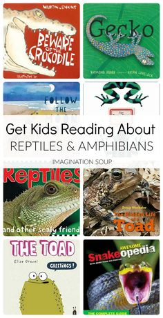 Riveting Picture Books About Reptiles and Amphibians - - Riveting Picture Books About Reptiles and Amphibians - - Rebecca Laseron rebecclaseron Animals and Pet Supplies Riv Reptiles Preschool, Reptiles Et Amphibiens, Cute Reptiles, Rabbit Cages, Dinosaur Books For Kids, Childrens Books, Mortal Kombat, Frog Facts, Nonfiction Books For Kids