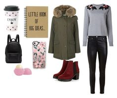 """""""Martes Twitter"""" by milena-lister-quevedo on Polyvore featuring moda, Woolrich, Givenchy, Dolce&Gabbana, PB 0110, Miss Étoile, Eos y Casetify"""