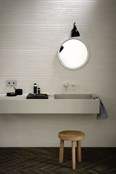 Materika - Satin concrete effect wall tiles | Marazzi