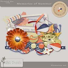 Memories of Summer - Elements by SAS Designs