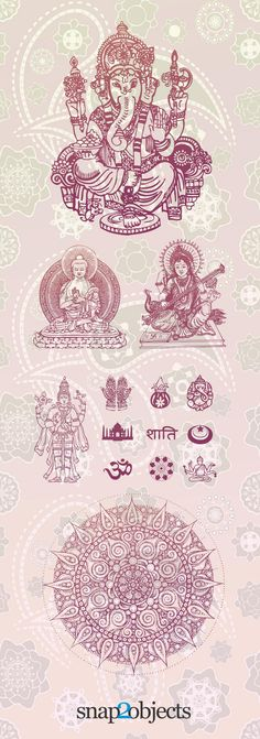 free-vector-hindu-elements