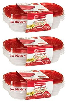 Rubbermaid Take Alongs Food Storage Container 4 Cup Rectangle Set Of 9
