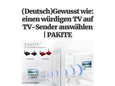 (Deutsch)Gewusst wie: einen würdigen TV auf TV-Sender auswählen   PAKITE