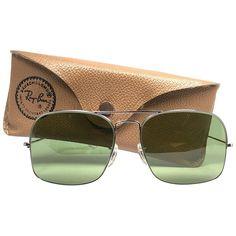 c0571964b591d Ray Ban Vintage Avalar Silver Rb3 Lenses B l 1970S Sunglasses