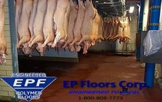 E.P. Floors provides USDA approved #epoxy #flooring and modified urethane material sales for export, training and installation throughout #South #America.
