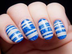 Marbled Blue Swimming Pool Stripes (via Bloglovin.com )