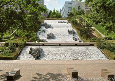 【JML水景案例】Parc Diderot - Courbevoie, La Defense, France