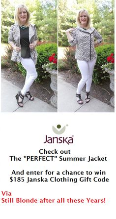 "Pinner says: ""PIN this fashion giveaway to your Giveaway board.  It's a great one. This site has the BEST fashion giveaways on the web. How does the Chief Blonde do it?"" Spon   @janskaclothing"