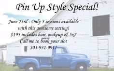 In two weeks Friday 6/23 - Pin Up Style Special