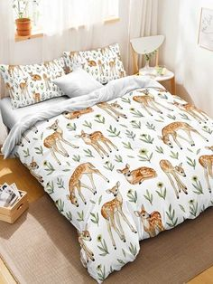 Shop New In Home & Apartment Furnishings, Décor | SHEIN USA Deer Decor, Comforters, Blanket, Usa, Shopping, Home, Creature Comforts, Quilts, Ad Home