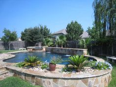 Above Ground Pool Landscaping | ... high value of a pool i decided to add a pool to my own back yard above