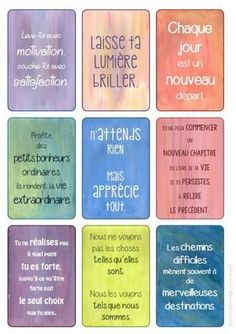 mes stickers: inspiration et motivation Message Positif, Material Didático, Positive Comments, Miracle Morning, Bible Encouragement, Quote Citation, Happiness Project, French Quotes, French Sayings