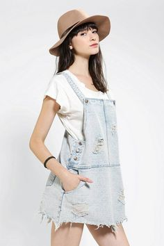 An overall dress? How cute would this be to take?