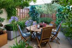 small terrace, container gardening - Google Search